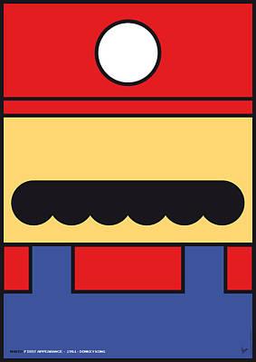 My Mariobros Fig 01 Minimal Poster Poster by Chungkong Art
