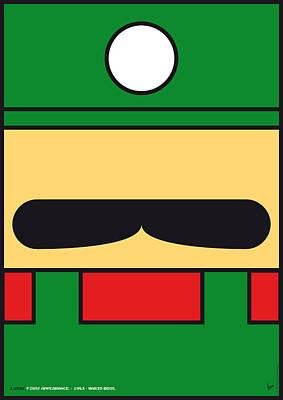 My Mariobros Fig 02 Minimal Poster Poster by Chungkong Art