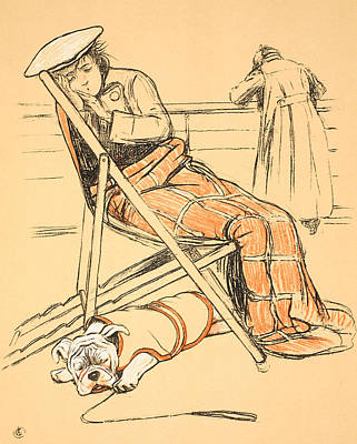 My Miserable Mistress Poster by Cecil Charles Windsor Aldin