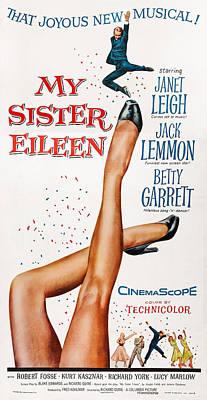 My Sister Eileen, Us Poster Art, 1955 Poster by Everett