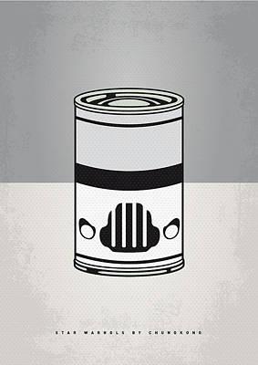 My Star Warhols Stormtrooper Minimal Can Poster Poster by Chungkong Art