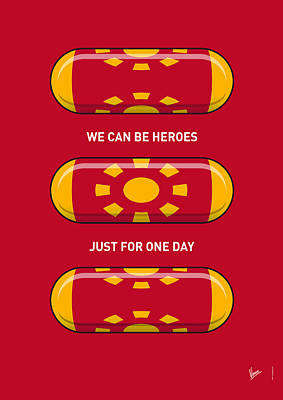 My Superhero Pills - Iron Man Poster by Chungkong Art