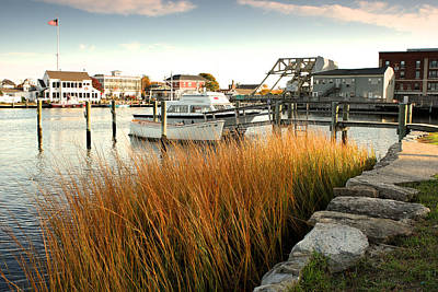 Mystic Seaport Ct Poster by Gail Maloney