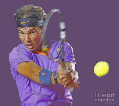 Nadal Poster by Stephen Shub
