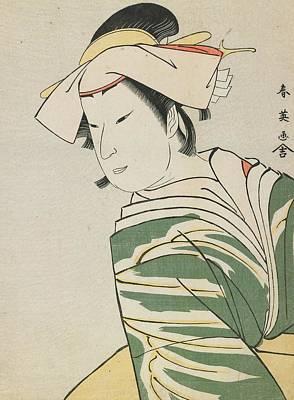 Nakamura Noshio II As Tonase Poster by Katsukawa Shunei