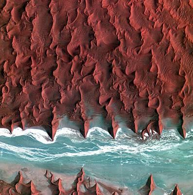 Namib Desert Poster by Kari/european Space Agency