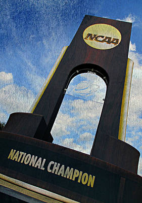 National Champions Poster by Stephen Stookey