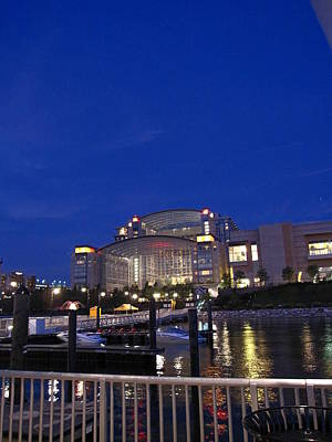 National Harbor - 121226 Poster by DC Photographer