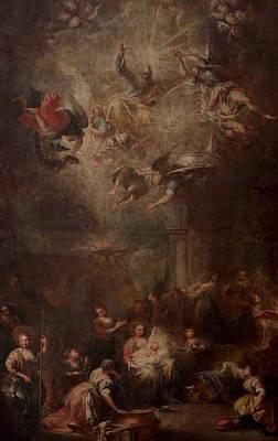 Nativity Of Mary Poster by Andrea Celesti