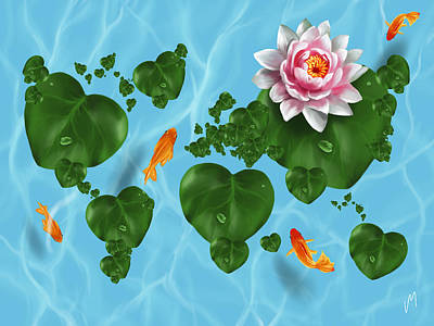 Natural World Poster by Veronica Minozzi