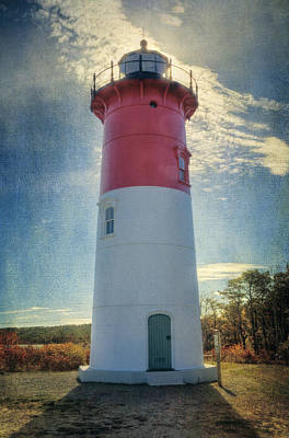 Nauset Lighthouse Poster by Joan Carroll