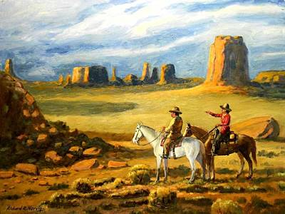 Navajo Country Poster by Richard Nervig