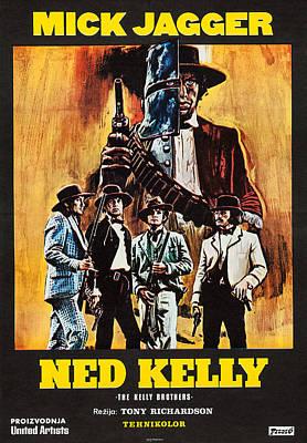 Ned Kelly, Czech Poster Art, Mick Poster by Everett