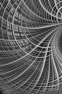 Network II Poster by John Edwards