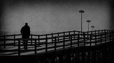 Never Goodbye Poster by Paulo Abrantes