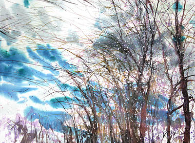 New England Landscape No.221 Poster by Sumiyo Toribe