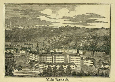 New Lanark Poster by British Library