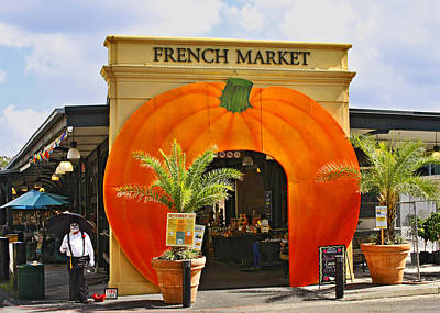 New Orleans French Market Poster by Christine Till