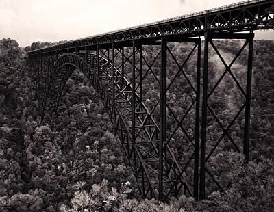 New River Gorge Bridge  Poster by Chris Flees