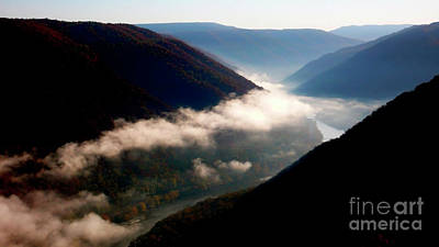 New River Gorge National River                           Poster by Thomas R Fletcher