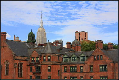 New York City - A View From The Highline Poster by Dora Sofia Caputo Photographic Art and Design