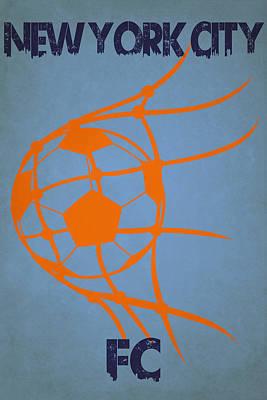 New York City Fc Goal Poster by Joe Hamilton