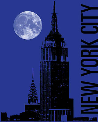 New York City Poster by Gary Grayson