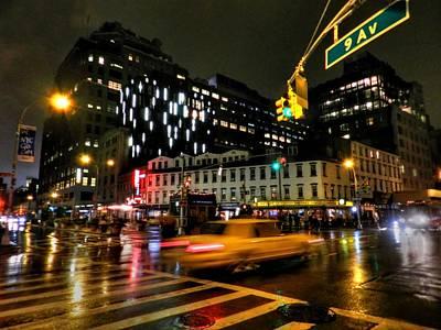 New York City - Greenwich Village 001 Poster by Lance Vaughn