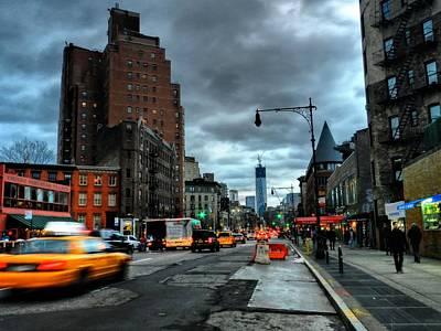New York City - Greenwich Village 015 Poster by Lance Vaughn