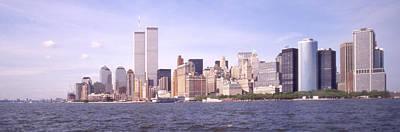 New York City Skyline Panoramic Poster by Mike McGlothlen