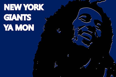 New York Giants Ya Mon Poster by Joe Hamilton