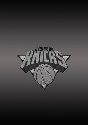New York Knicks Poster by Paulo Goncalves