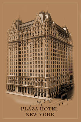 New York Landmarks 5 Poster by Andrew Fare
