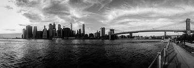 New York Skyline Poster by Nicklas Gustafsson