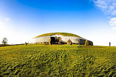 Newgrange - Mystery Of The Irish Boyne Valley  Poster by Mark E Tisdale