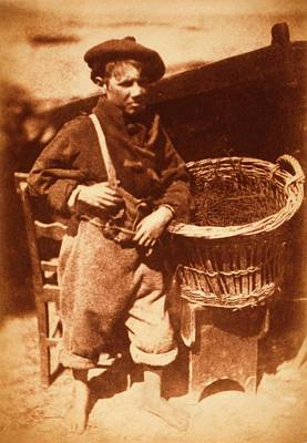 Newhaven Fisherboy Poster by Library Of Congress