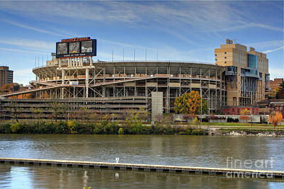 Neyland Stadium Poster by Photography by Laura Lee