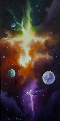 Ngc 1030 Poster by James Christopher Hill