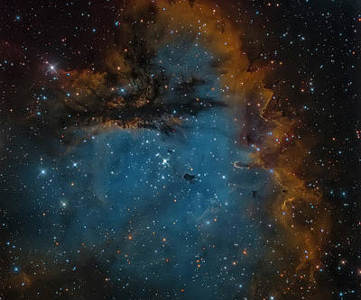 Ngc 281, The Pacman Nebula Poster by Michael Miller