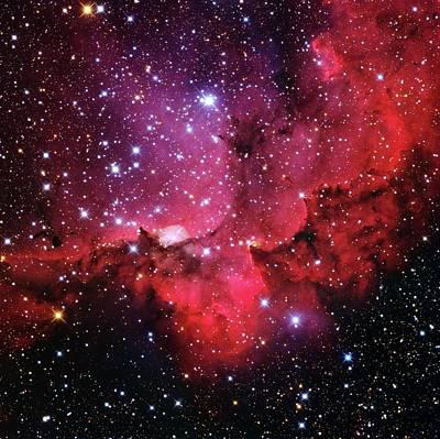 Ngc 7380 Star Cluster Poster by Adam Block/mount Lemmon Skycenter/university Of Arizona