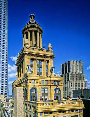 Niels Esperson Building - Houston Poster by Mountain Dreams