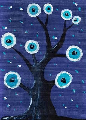Night Sentry Poster by Anastasiya Malakhova