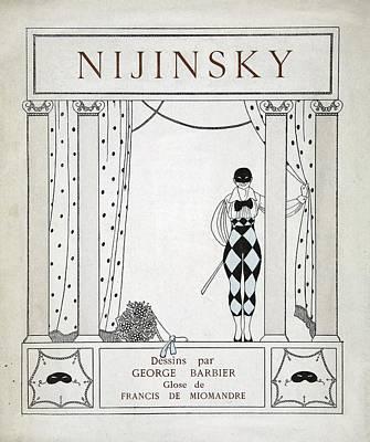 Nijinsky Title Page Poster by Georges Barbier