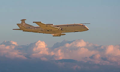 Nimrod - Maritime Patrol Aircraft Poster by Pat Speirs