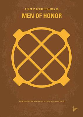 No099 My Men Of Honor Minimal Movie Poster Poster by Chungkong Art