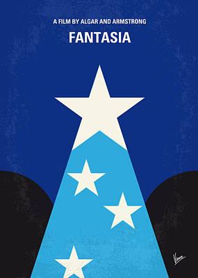 No242 My Fantasia Minimal Movie Poster Poster by Chungkong Art