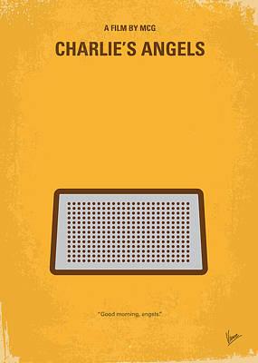 No273 My Charlies Angels Minimal Movie Poster Poster by Chungkong Art