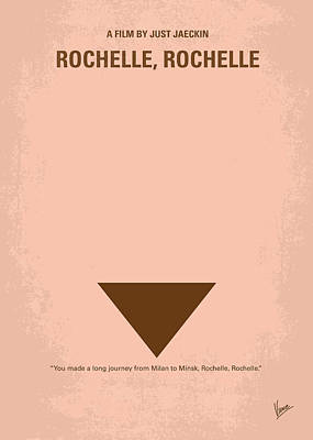 No354 My Rochelle Rochelle Minimal Movie Poster Poster by Chungkong Art