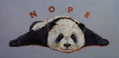 Nope Poster by Michael Creese