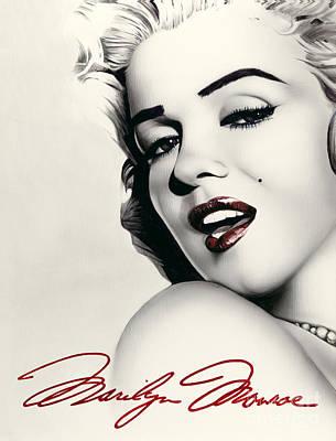 Norma Jean Poster by Scott Spillman